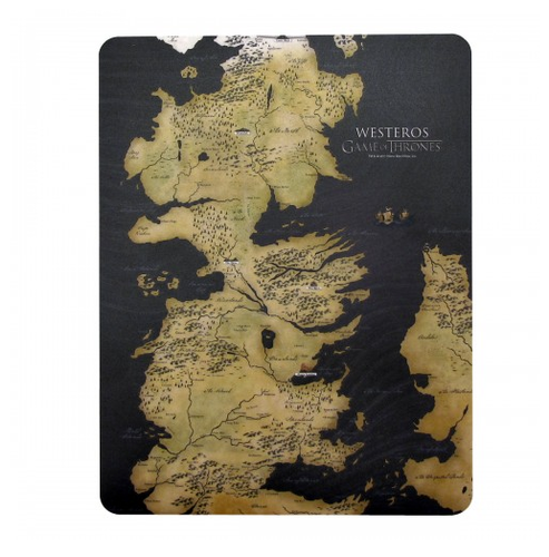 Game of Thrones Westeros Mouse Pad ($12)
