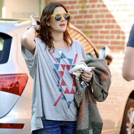 Drew Barrymore and Will Kopelman Shopping After Baby