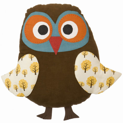 Posh Tots Owl Cushion