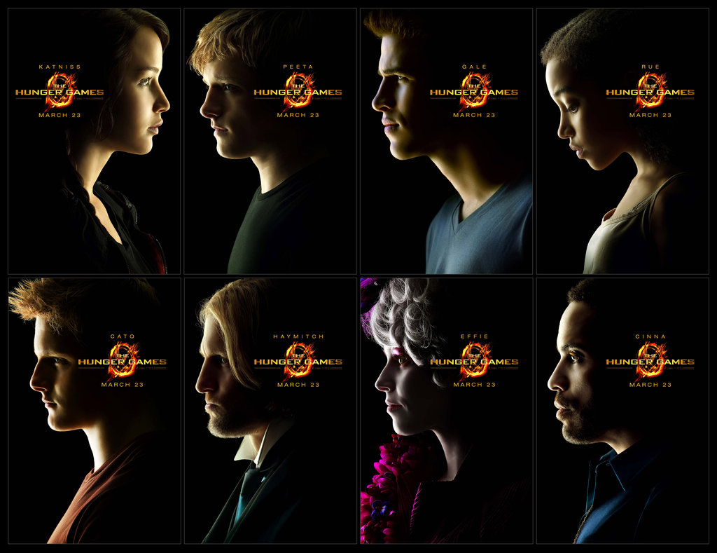 The Hunger Games Set of Limited-Edition Character Posters ($65)