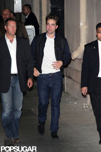 Robert Pattinson was out in Los Angeles.