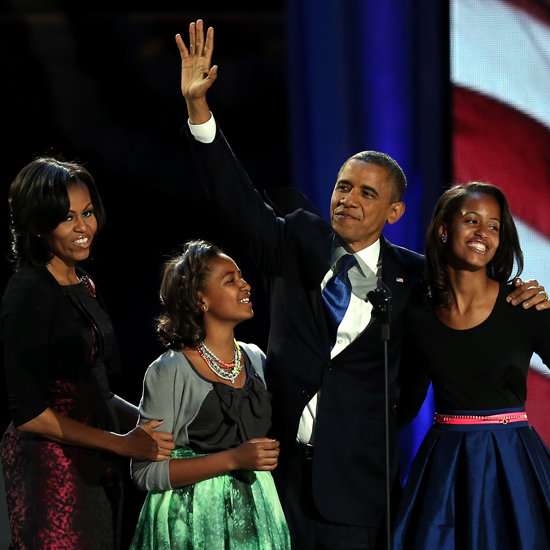 Barack Obama 2012 Election Acceptance Speech Pictures