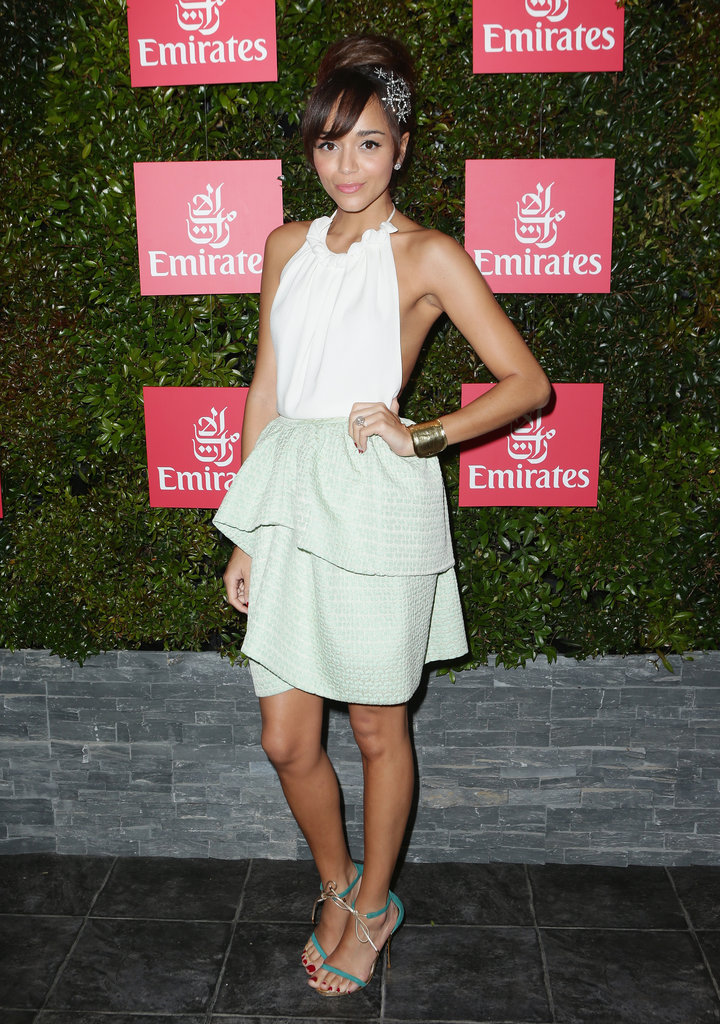 Ashley Madekwe Reunites With Mischa Barton at Melbourne Cup