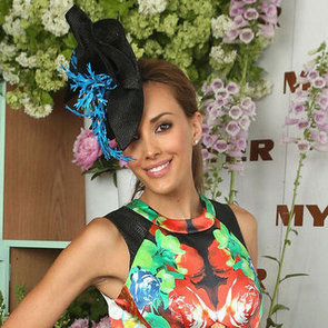 Pictures of Rebecca Judd at the 2012 Melbourne Cup