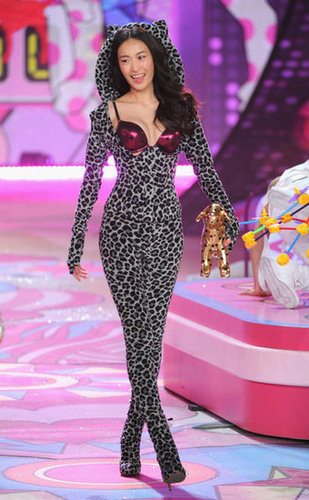 Shu Pei Qin was part of the Victoria's Secret Fashion Show.