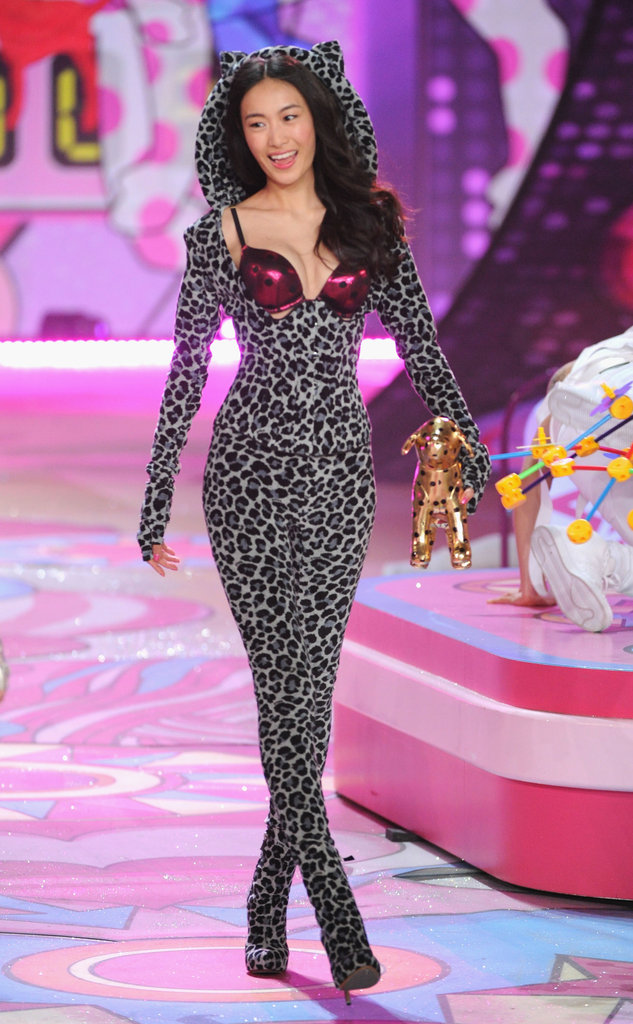 Shu Pei Qin was part of the Victoria's Secret Fashion Show.