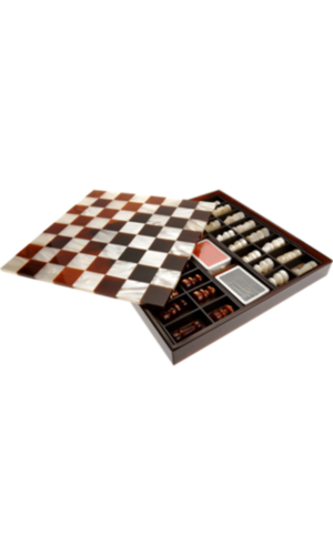 Chess/Checkers Game Set
