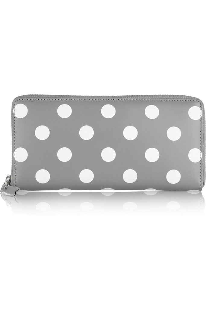 I'm pretty sure I've wanted a Comme des Garçons wallet since birth; that may be a stretch, but I honestly think this is my year! I love how this Polka-Dot Leather Wallet ($335) is sweet, yet sophisticated — and best of all, it has a ton of room for all my receipts and loose change. — Britt Stephens, assistant editor