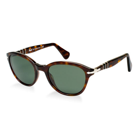 Sunglasses, $329.95, Persol at Sunglass Hut. Ph: 1800 556 926