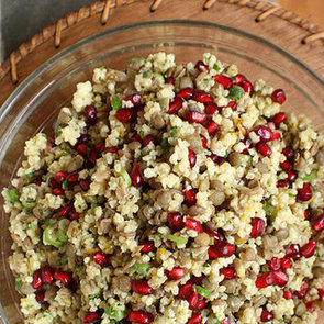 Millet Salad With Pomegranate