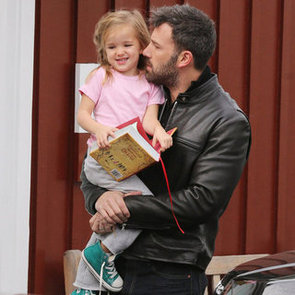 Ben Affleck Carrying Seraphina Affleck in LA   Pictures