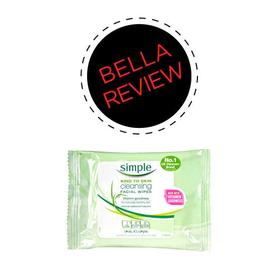 Beauty Reviews of Simple Kind to Skin Wipes