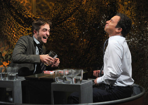Robert Pattinson played a game on the show with Jimmy Fallon.