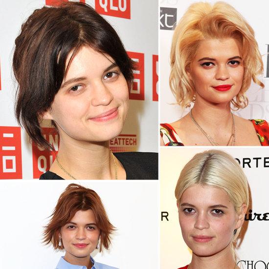 Pixie Geldof Hair Evolution