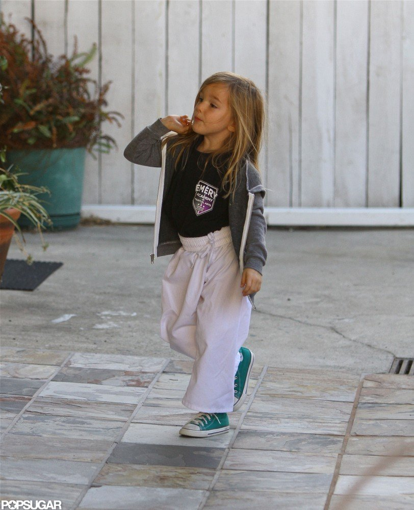 Seraphina Affleck had karate.