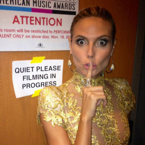 Candid Snaps From The 2012 American Music Awards