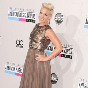 Pink & Carey Hart Attend the American Music Awards Together