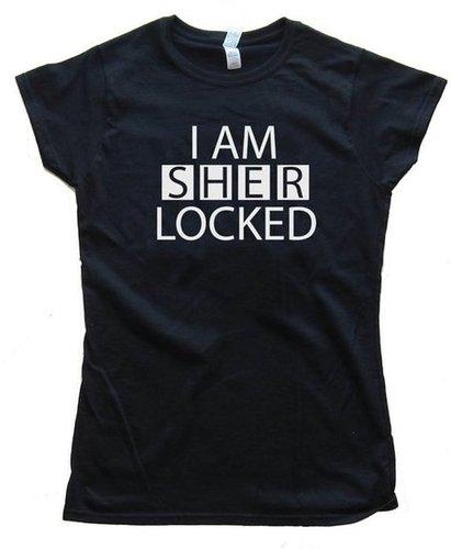 """I Am Sherlocked"" T-Shirt ($13-$21)"
