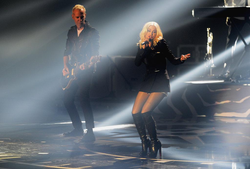 Gwen Stefani performed at the awards in Frankfurt.