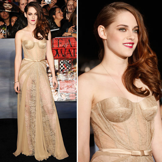Kristen Stewart Is Sheer Perfection at the Breaking Dawn Premiere