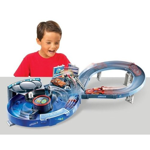 For 4-Year-Olds: Cars 3 Quick Changers Crash 'N' Change Speedway Track Set
