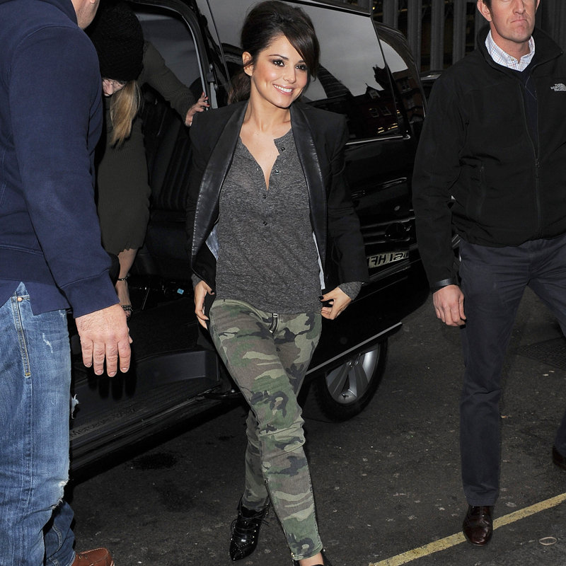 Get Cheryl Cole's Camo Jeans | POPSUGAR Fashion UK
