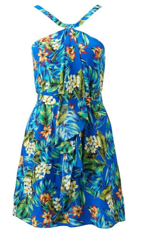 Aloha! Nothing says Summer like a tropical print. To be accessorised with cocktail of choice.— Ali, FabSugar Editor. Dress, $119.99, Forever New