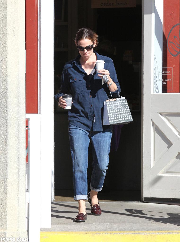 Jennifer Garner was out in LA.