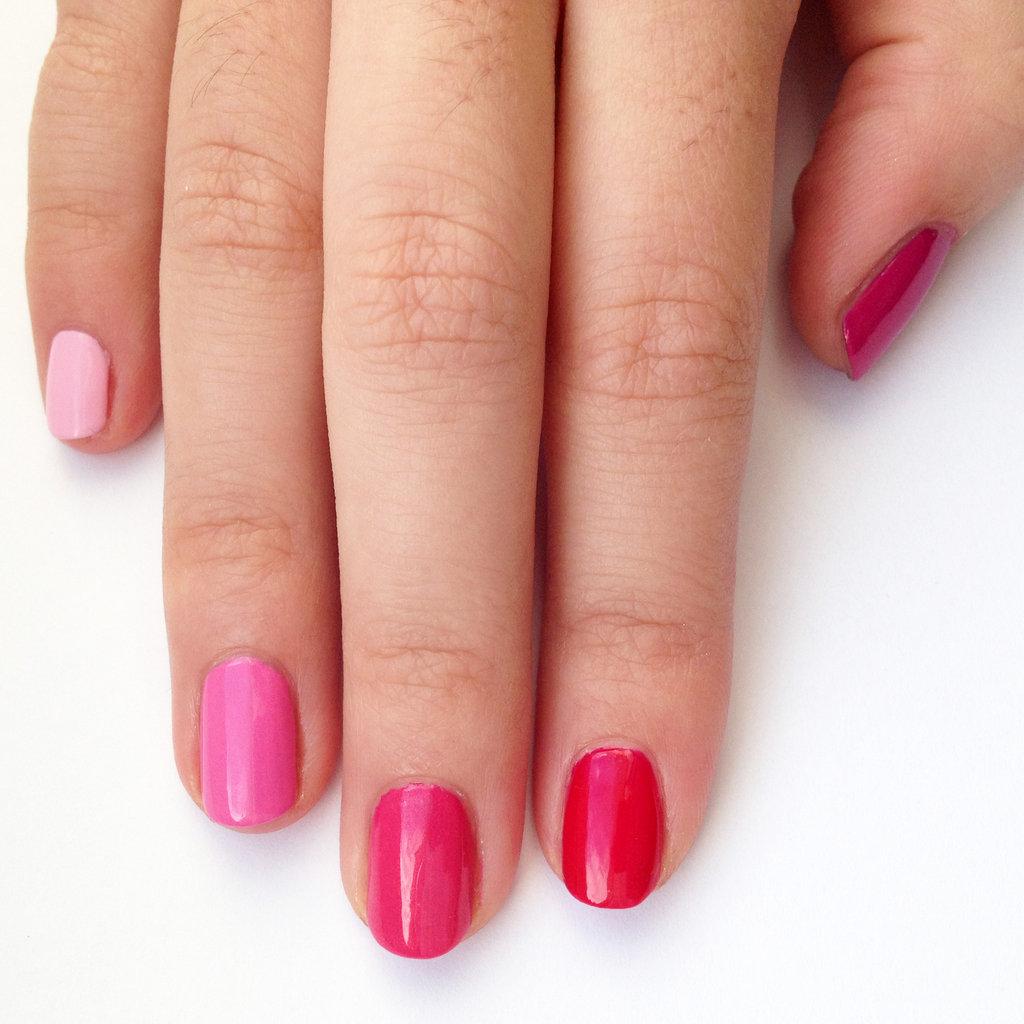 Ombre Nail Art: DIY Pink Ombre Nail Art