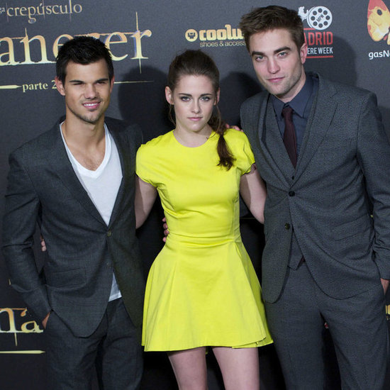 Kristen Stewart in a Neon Dior Dress | Pictures