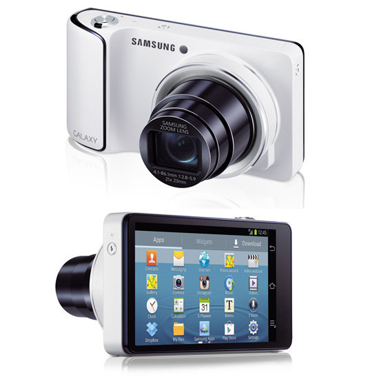The Camera That Works Like a Phone — Samsung Galaxy Camera