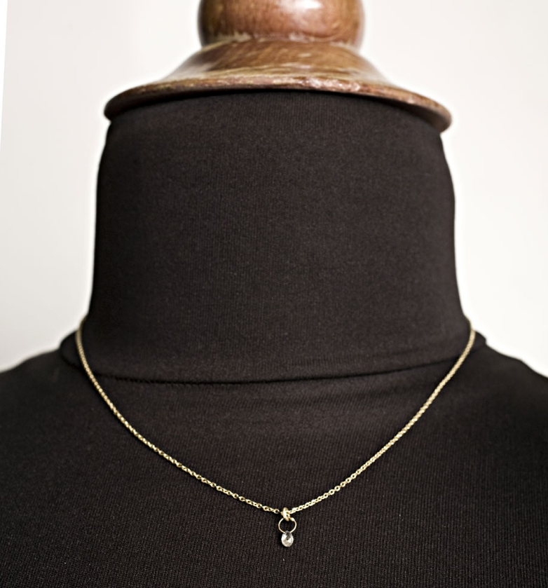 """This is a necklace every girl should own, and we've found it. Say """"hello"""" to Yayoi Forest's diamond briolette necklace ($698). It may be an investment, but this is one of those pieces you'll have forever."""