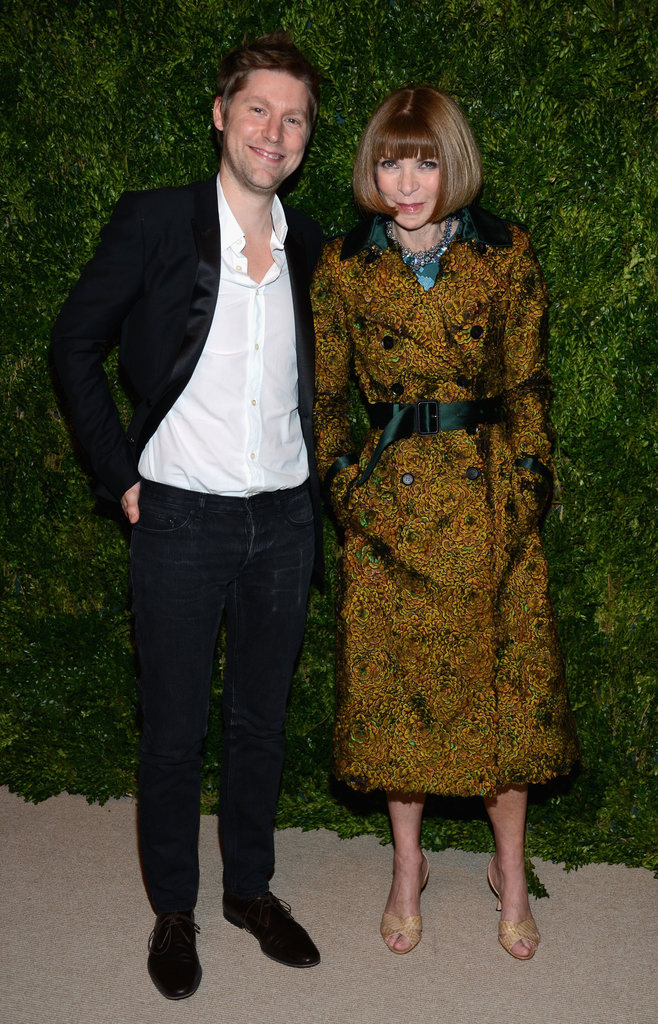 Christopher Bailey and Anna Wintour