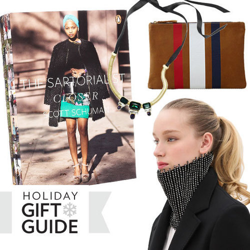 "Fab has put together a stylish ""one size fits all"" gift guide full of indulgent pieces like statement accessories, chic notebooks, must-have iPad cases, and more."