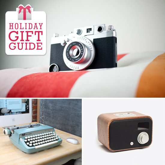 Since the holidays are all about tradition and nostalgia, it only seems fitting to give retro-inspired gadget gifts to the techies on your shopping list — and Geek has a great roundup of them!