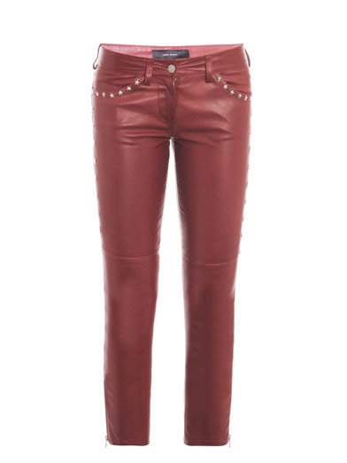 Isabel Marant's Zoltan Star-Stud Leather Trousers ($2,390) are proof that a little studs go a long, fashionable way.