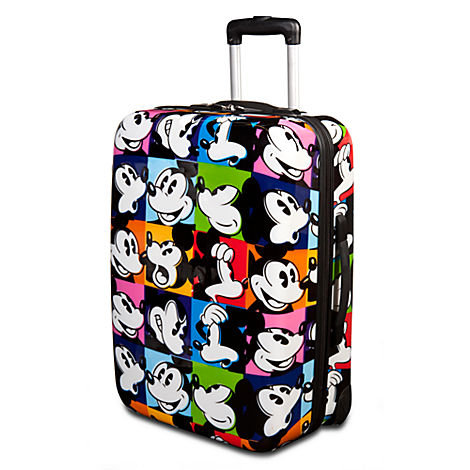 Pop Art Mickey Mouse Luggage