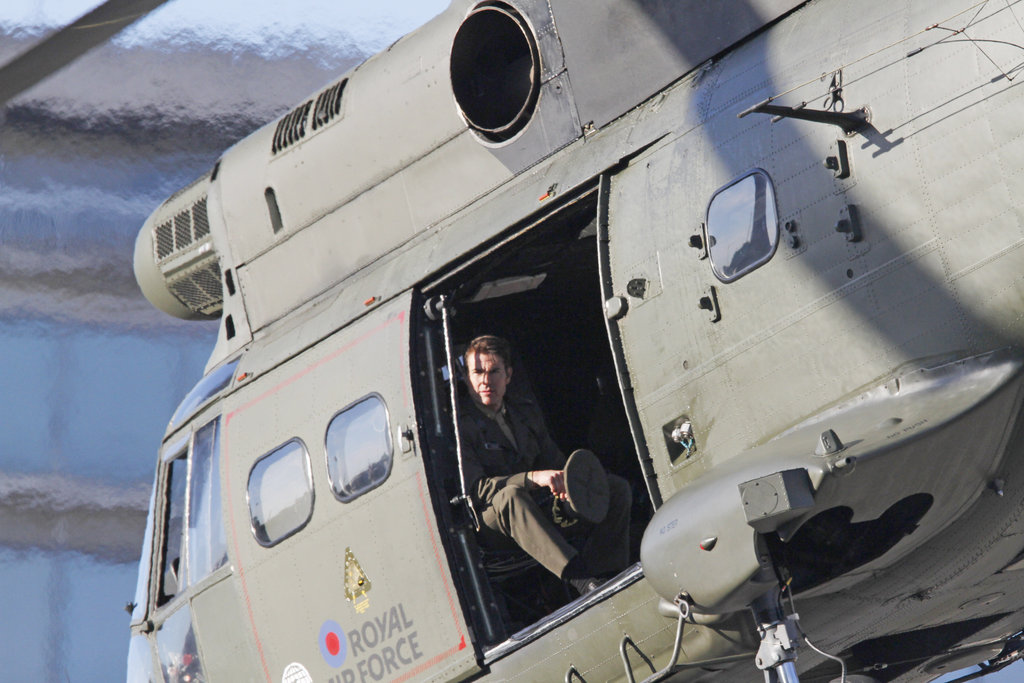 Tom Cruise Gets Back to Work Post-Thanksgiving With Suri