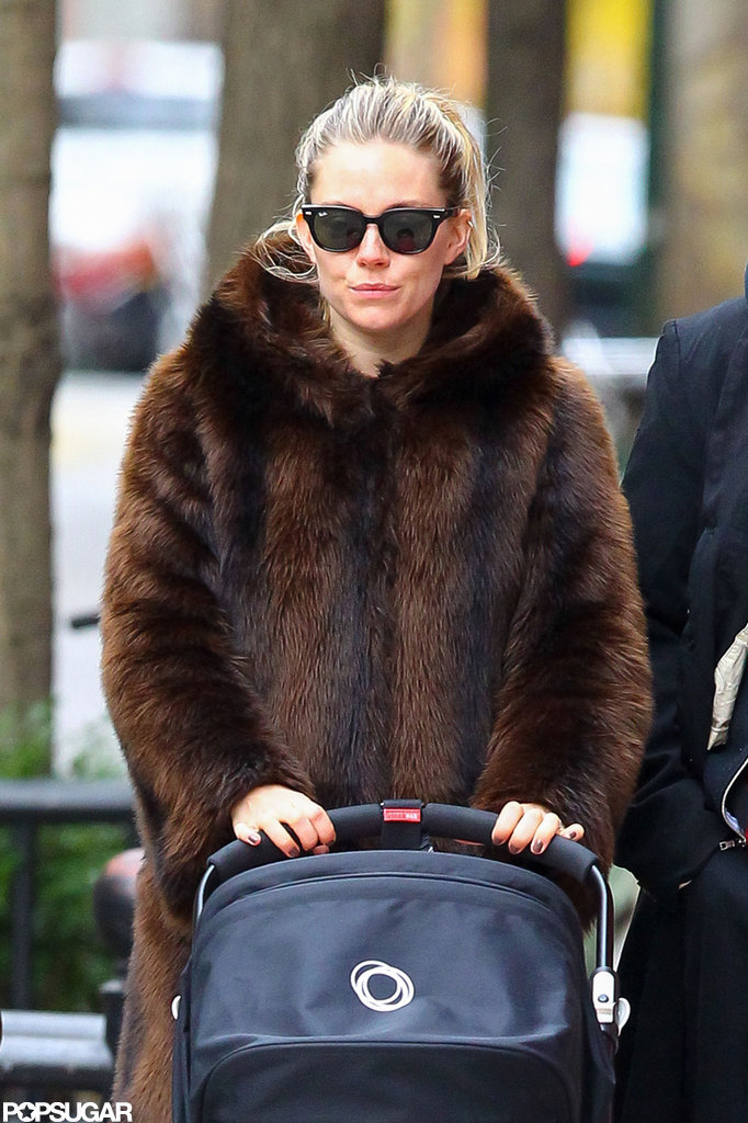 Sienna Miller and Tom Sturridge Tackle Cold NYC With Marlowe