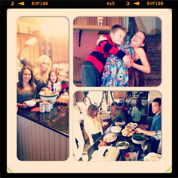 Jenny McCarthy shared photos of her family's celebration. Source: Instagram user jennyannmccarthy