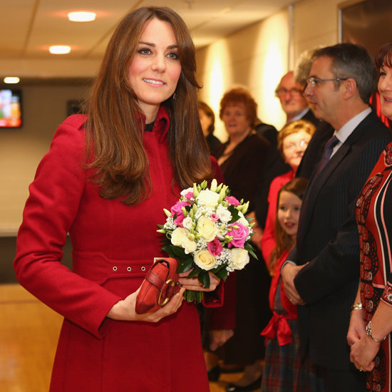 Kate and William Hit the Rugby — and a formal dinner