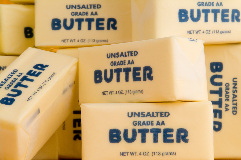 How Many Sticks of Butter Did You Use Total?