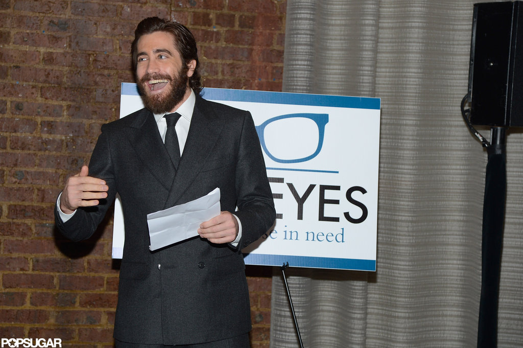 Jake Gyllenhaal Is the Man of the Evening at a Charitable Dinner