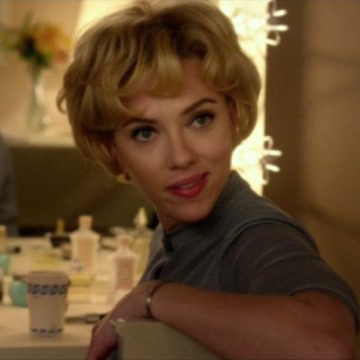 Scarlett Johansson and Jessica Biel Hitchcock Clip (Video)