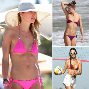 Sexiest Celebrity Swimsuit Moments: See Who's Most Stylish!