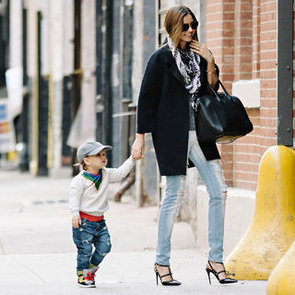 Miranda Kerr Holding Hands With Flynn Bloom in NYC