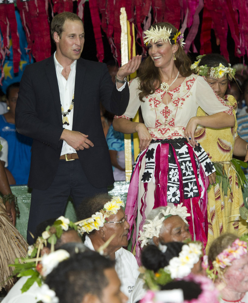 William and Kate on Tour