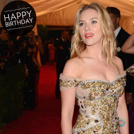 Happy 28th Birthday, Scarlett Johansson!