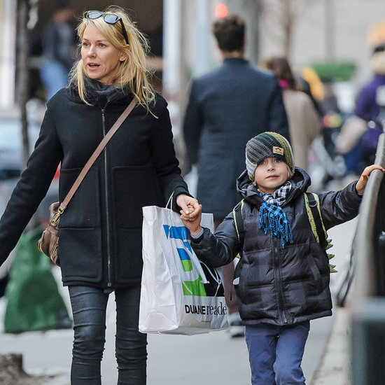 Naomi Watts Holding Hands With Her Sons | Pictures
