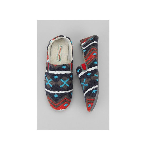 O'Hanlon Mills Fair Isle Slipper, approx $30